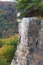 Endless Wall, New River Gorge, West Virginia